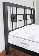 Металлическая кровать, 160х200 (190) см. Цвет на выбор. K079