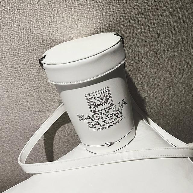 Сумка в форме банки мороженного