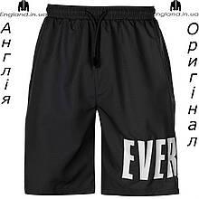 Шорты бриджи мужские Everlast чёрные для тренеровок | Шорти бріджі чоловічі Everlast чорні
