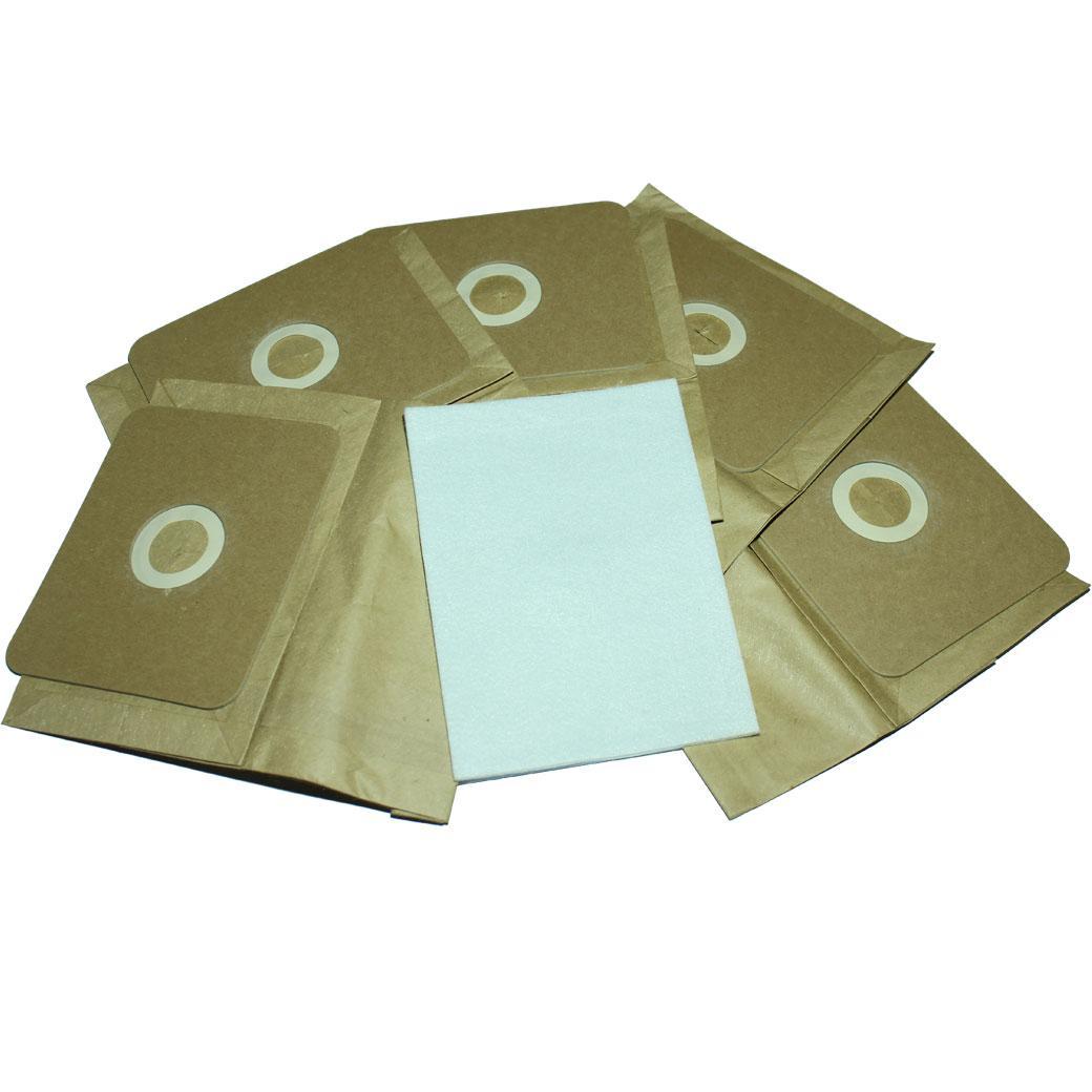 Универсальные одноразовые мешки для пылесосов (комплект 5 шт)