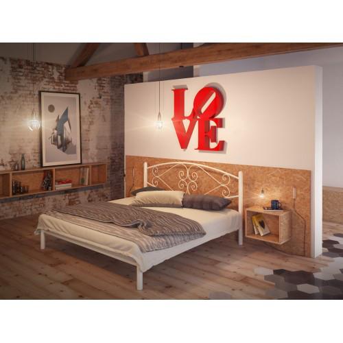 Кровать Камелия Белая 160*190 (Tenero TM)