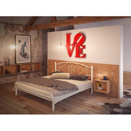 Кровать Камелия Белая 160*190 (Tenero TM), фото 2