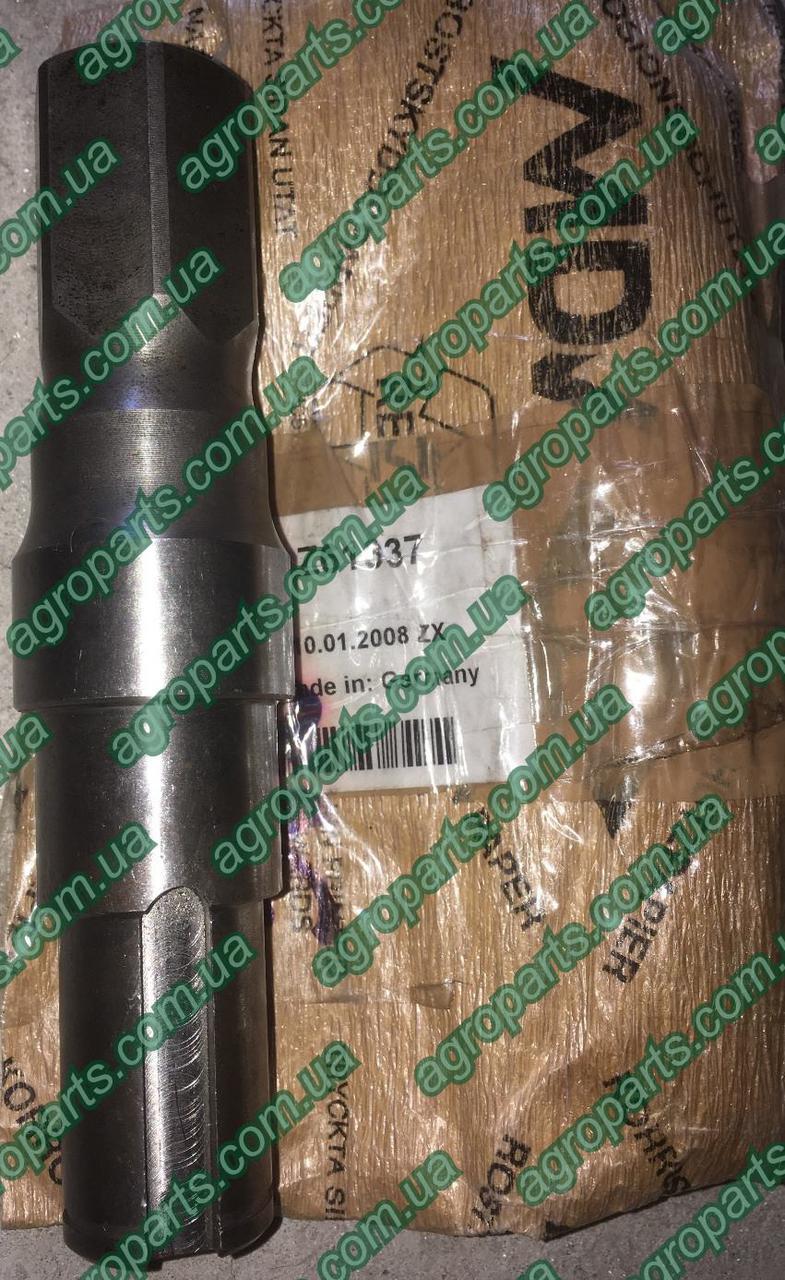 Вал Z61337  редуктора зернового шнека Z59073 зч John Deere SHAFT Z60724