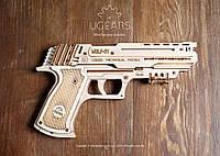Механічний конструктор 3Д пазли «Пістолет Вольф-01», фото 1