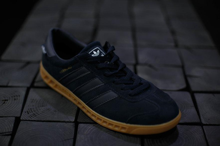 Кроссовки мужские Adidas Hamburg.Сетка/Полиуретан