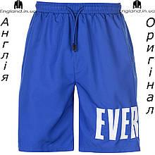Шорты бриджи мужские Everlast синие для тренеровок | Шорти бріджі чоловічі Everlast сині