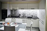"""Кухня """"Белая из акрила"""" из акрила, фото 1"""