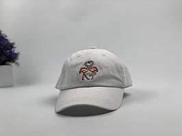 Кепка бейсболка Flamingo (белый)