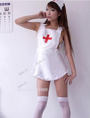 """Игровой костюм """"Медсестра"""" белый, фото 2"""