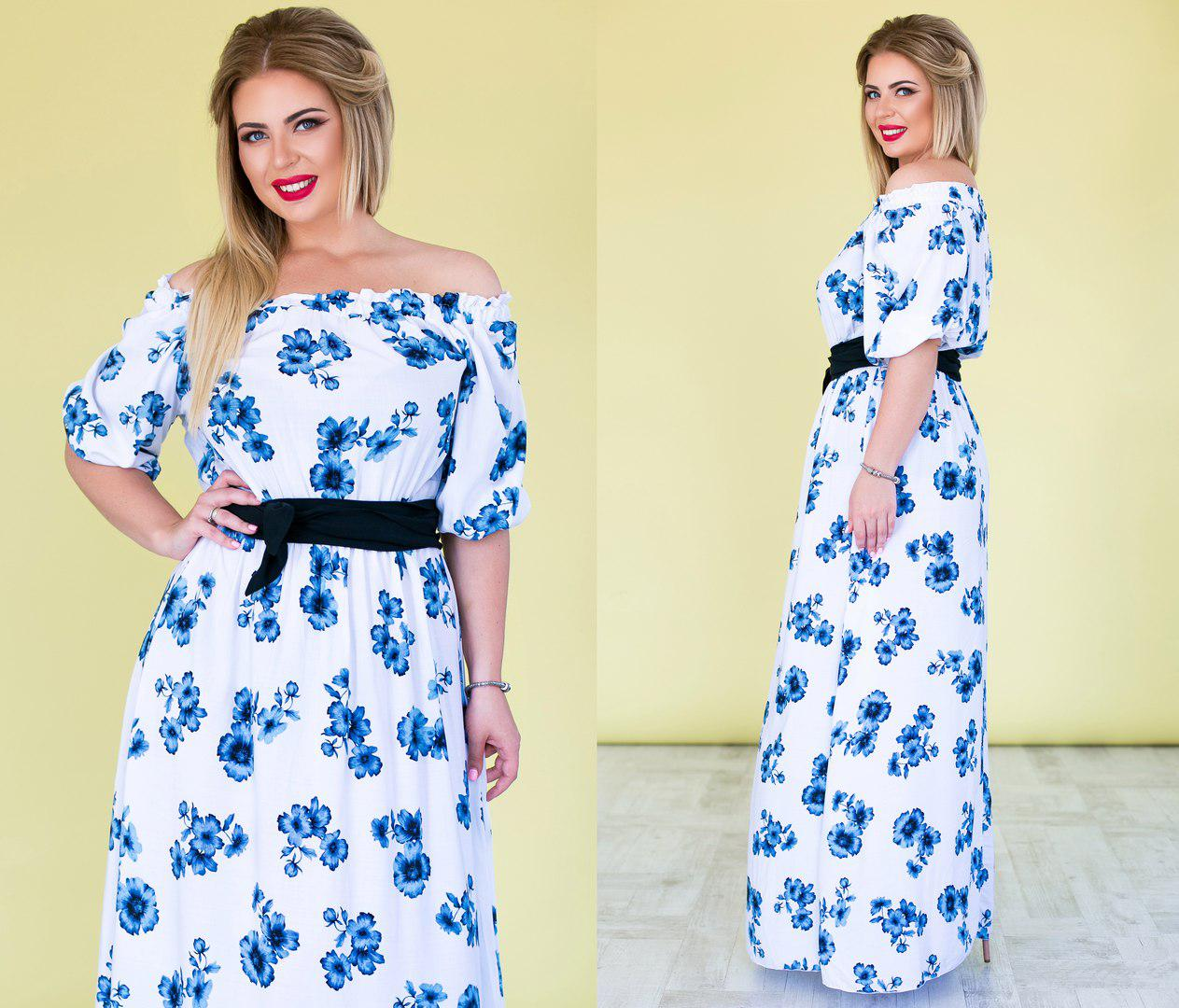f339a67b691 Платье летнее в пол