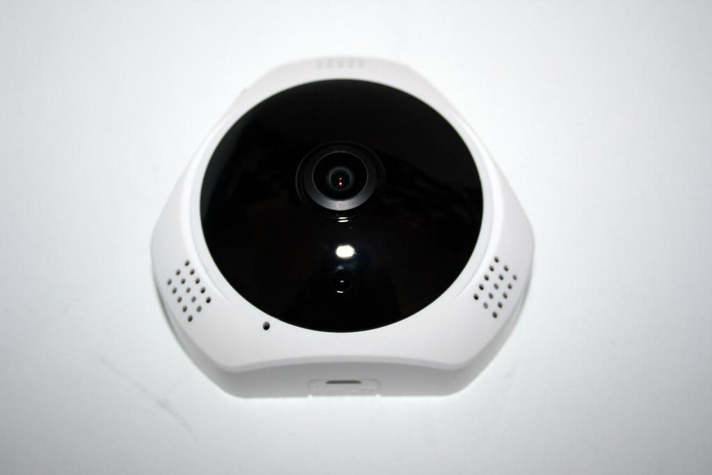 Панорамная IP WiFi камера-рыбий глаз