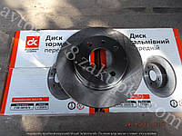 Диск переднего тормоза 2108, 2109, 21099 ДК, фото 1