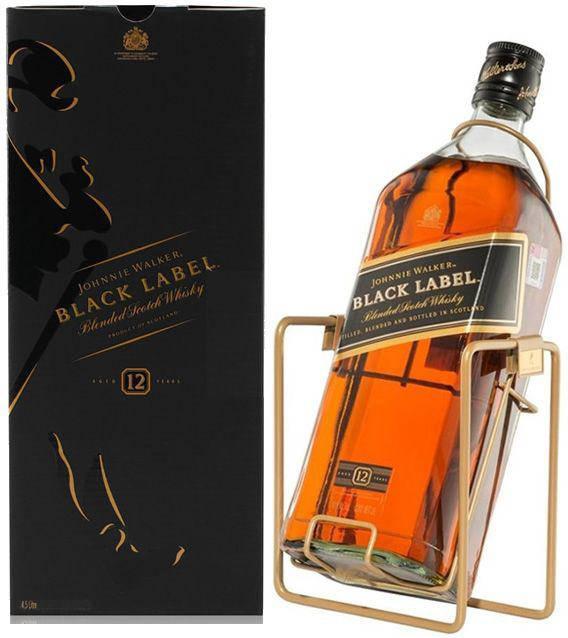 Виски Johnnie Walker Black Label 3л на качели