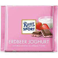 Шоколад Ritter Sport клубничный йогурт