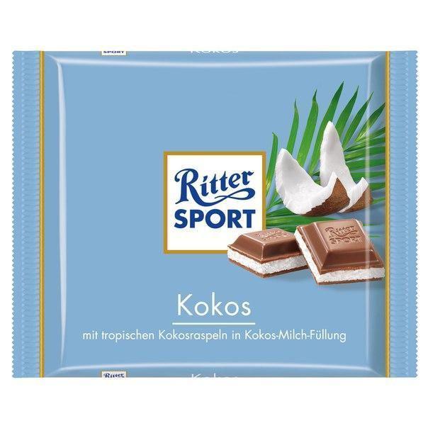 Шоколад Ritter Sport молочный Кокос