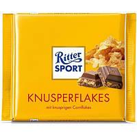 Шоколад Ritter Sport молочный с хлопьями
