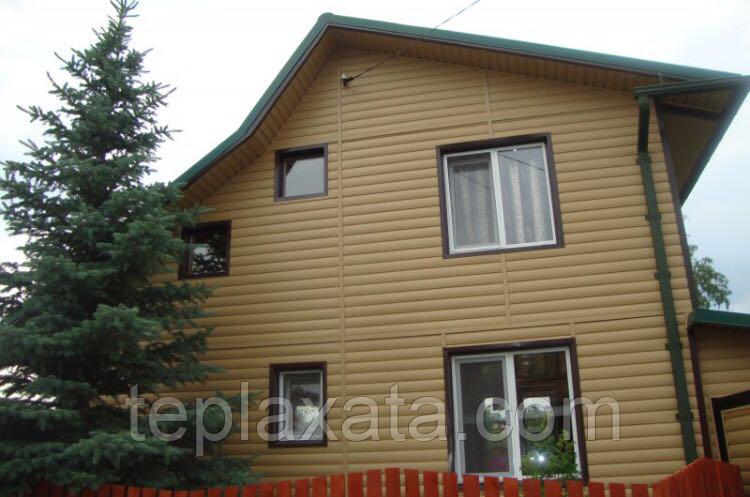 ОПТ - Панель стеновая виниловая Блок-хаус DOCKE Карамель (0,864 м2)