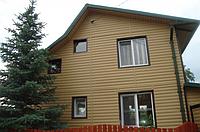 Панель стеновая виниловая Блок-хаус DOCKE Карамель (0,864 м2), фото 1