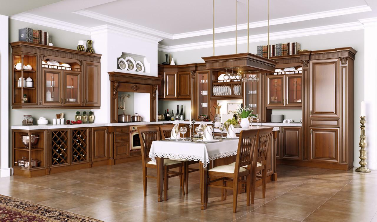 """Кухня """"Бергонцо"""" из массива"""