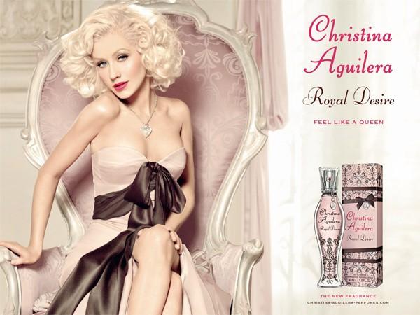 Новый приятный парфюм от Christina Aguilera Royal Desire