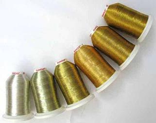 Металлизированная вышивальная нитка