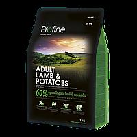 Profine Adult Lamb and Potatoes ягненок и картофель для взрослых собак  3кг