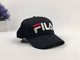 Кепка бейсболка Fila (черная)
