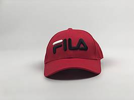 Кепка бейсболка Fila (красная)