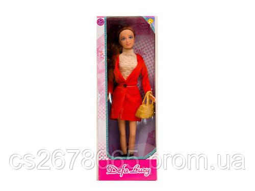 Кукла Defa Lucy 8365 модница с сумкой