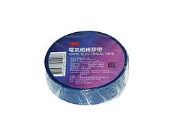 Изолента 3M 25 м x19мм х0,13мм синяя
