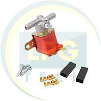 Клапан электромагнитный ГБО бензиновый Atiker алюминиевый