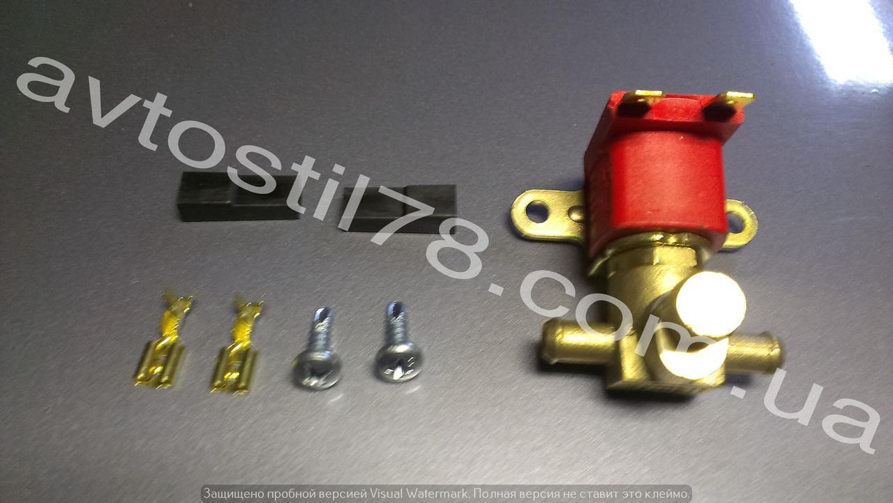 Клапан электромагнитный ГБО бензиновый Atiker латунный