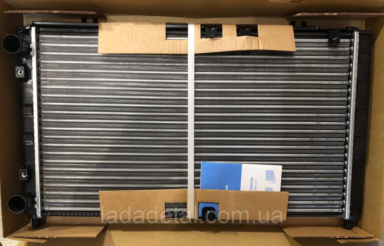 Радиатор Калина 1117,1118, 1119 серия Sport с кондиционером, охлаждения, алюминий Лузар