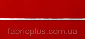 Резинка  плоская  п/эфирная  белая  4 мм