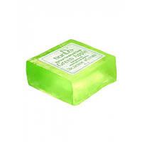 Натуральное мыло ручной работы «Зеленое яблоко» 85 г