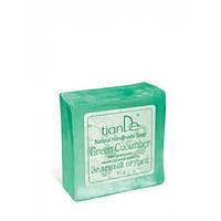 Натуральное мыло ручной работы «Зеленый огурец» 85 г.