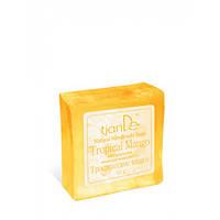 Натуральное мыло ручной работы «Тропическое манго» 85 г.