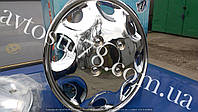 Колпак колеса Ваз, Заз 13 (комплект) Хром, фото 1