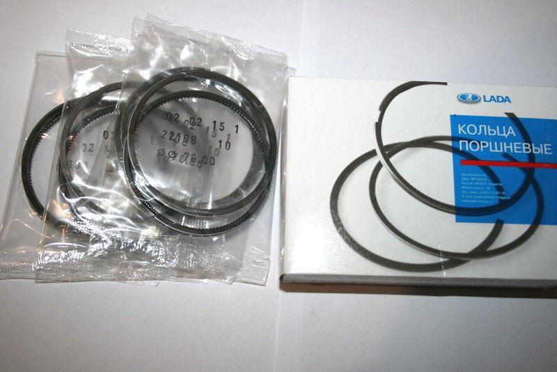 Кольца поршневые АвтоВаз 76,0 хром