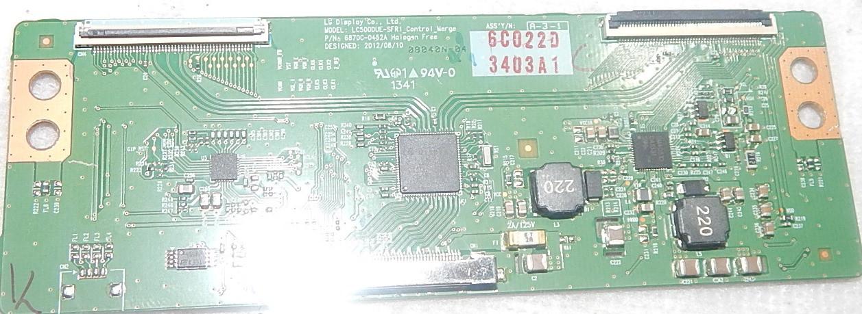 Текон 6870C-0452A для телевизора LG 42LN5204
