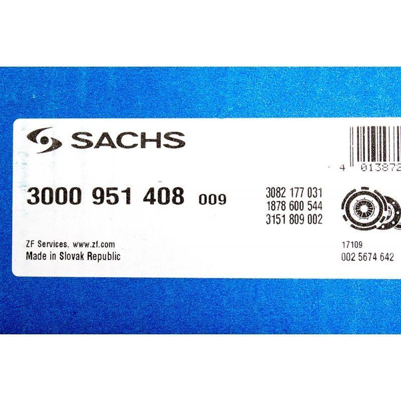 Комплект сцепления Ланос 1.5 SACHS 3000 951 408