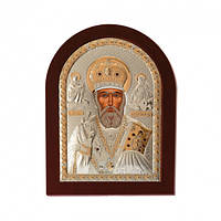 Икона серебряная  Святитель Николай