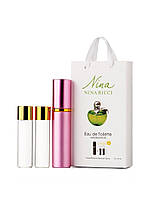 Мини-парфюм Nina Ricci Nina Plain Green Apple (Нина Риччи Плейн), 3*15 мл