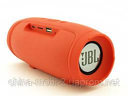 JBL Charge mini 3+ E3+ J007 6W копія, портативна колонка з Bluetooth FM MP3, червона, фото 2