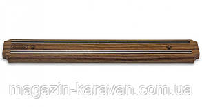 Магнитная планка Kamille Dark Wood 34см для ножей