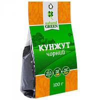 Kyнжyт чepный, NATURAL GREEN, 100Г