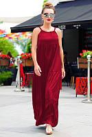 Длинное летнее платье - сарафан Кимберлидо 60 размера