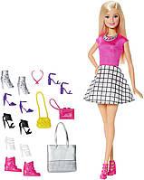 Кукла Барби с набором обуви и аксессуаров  Barbie Doll with Shoes and Accessories