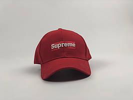 Кепка бейсболка Supreme Louis Vuitton (красный)