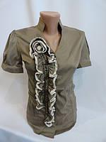 Блузы женские приталённые оптом хорошего качества, фото 1